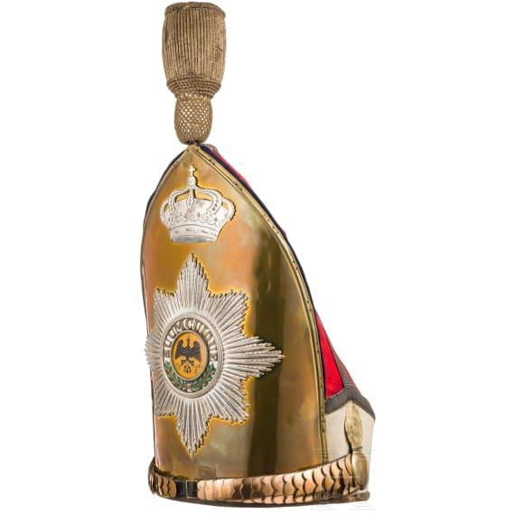 Grenadiermütze für Offiziere im Kaiser-Alexander Garde-Grenadier-Regiment Nr. 1, ab 1896