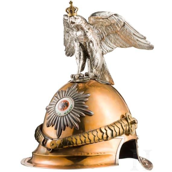 Helm M 1843 für Offiziere der Regimenter Garde du Corps und Gardekürassiere