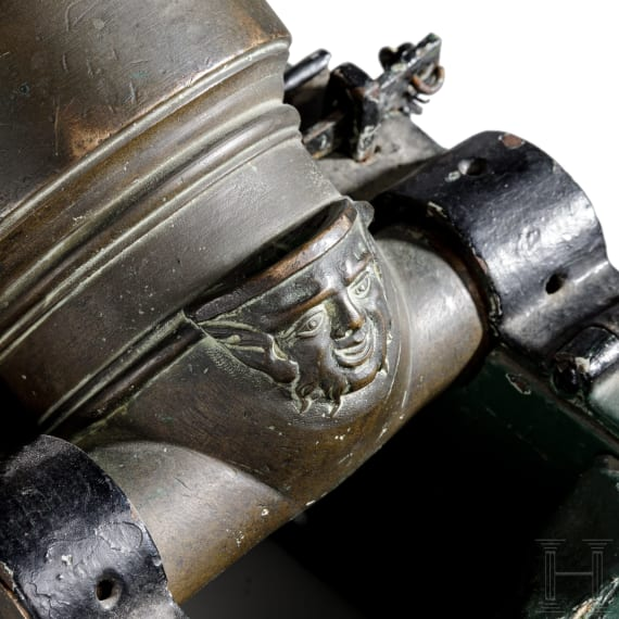 A French miniature mortar, 18th century