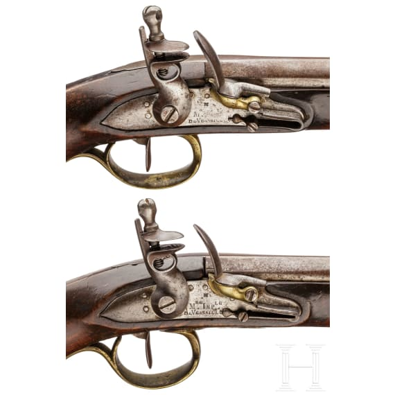 A pair of pistols for mamluk officers of the Imperial Guard, circa 1800
