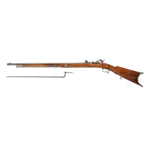 A M 1851/67 Milbank-Amsler rifle