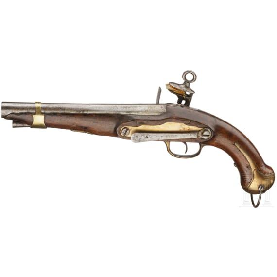 Steinschlosspistole Mod. 1753/89, Leichte Kavallerie, um 1805