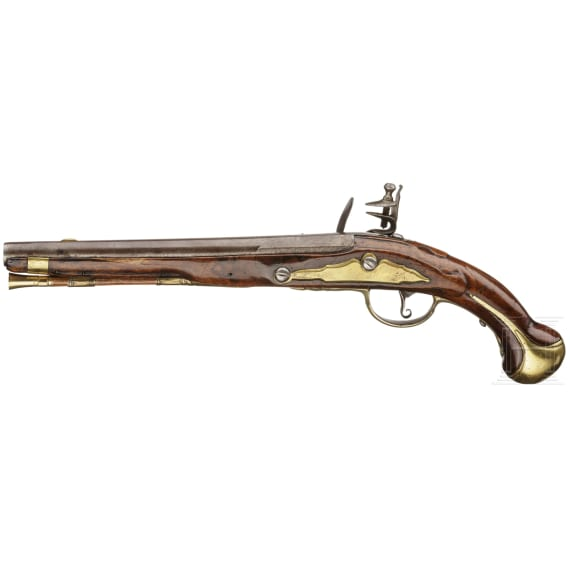 An officer's pistol, Westphalian area, ca. 1740