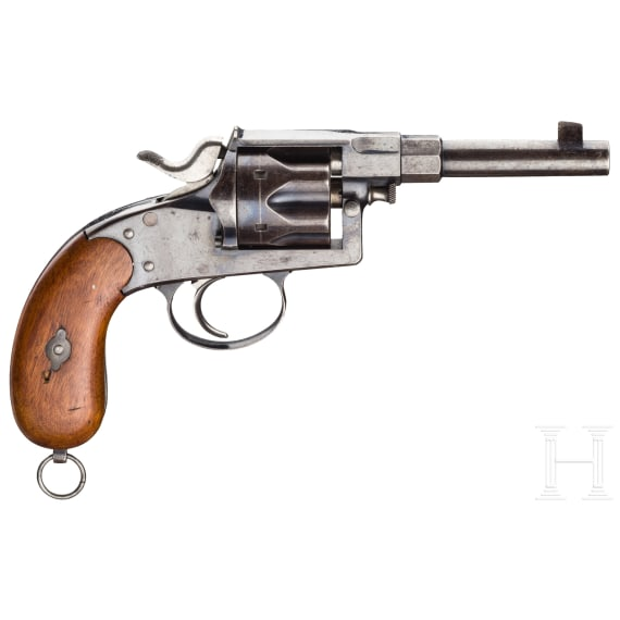 A Reichsrevolver Mod. 1883, model or trial of the manufacturer's Royal Prussian inspection