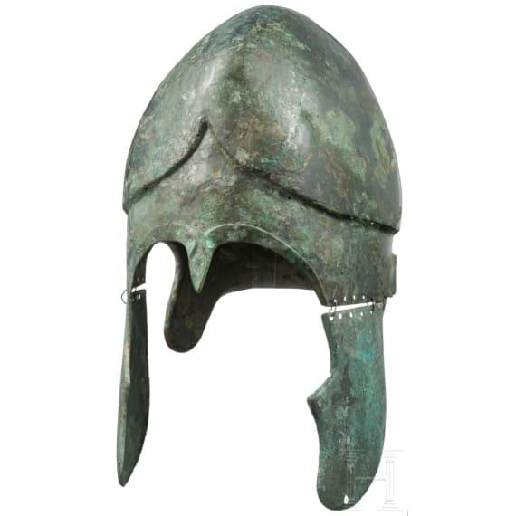 A South-East European Chalcidian helmet, type V, 4th century B.C.