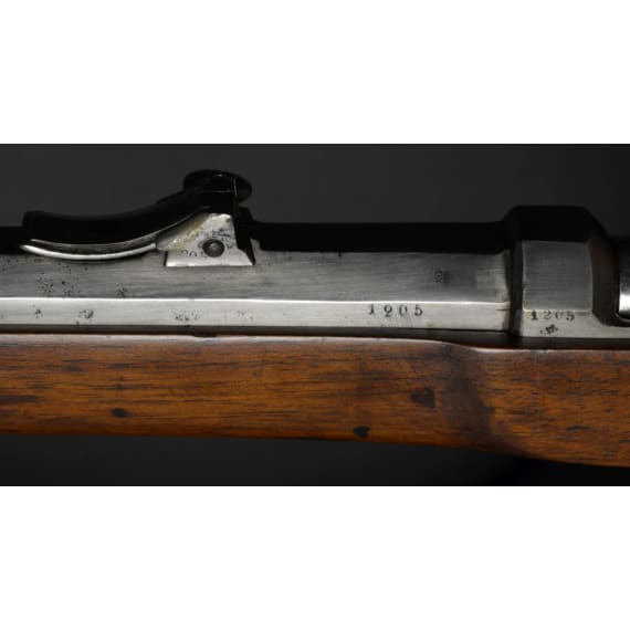 A Prussian-modified Austrian needle-fire rifle