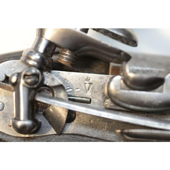 Kavallerie-Steinschlosspistole Mod. 1789, Fertigung 1789