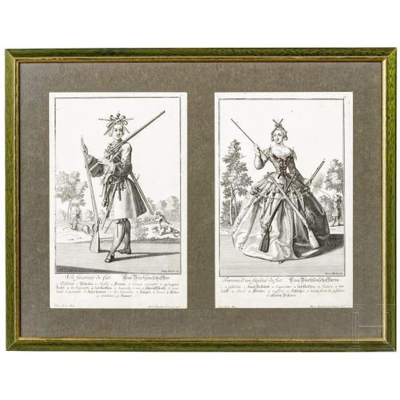 Engelbrecht, Martin, The gunmaker and his wife, Augsburg, circa 1720