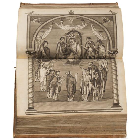 """Eckhart, Johann Georg von """"Commentarii de rebus franciae orientalis et episcopatus wirceburgensis"""""""