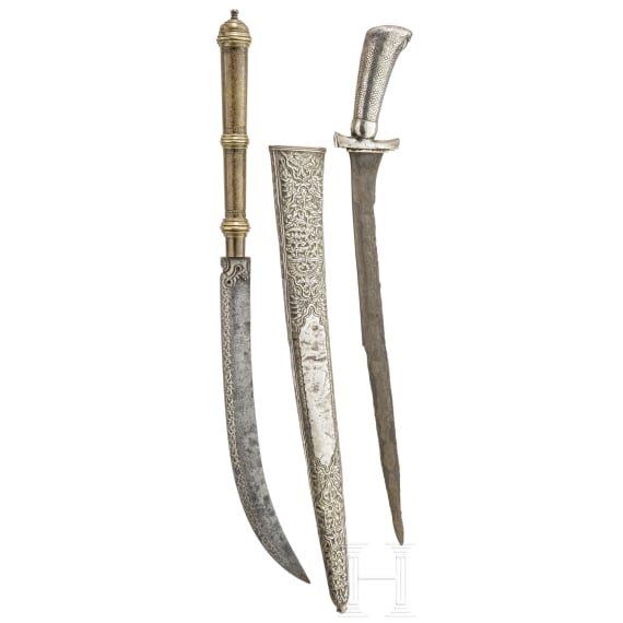 Two Indonesian knives, circa 1900