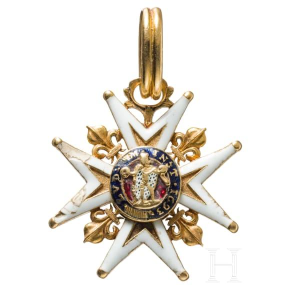 A French Ordre Royal et Militaire de Saint Louis, circa 1780