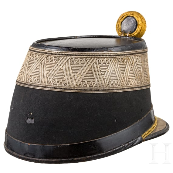 A shako for subalternofficers of the k. u. k. infantry