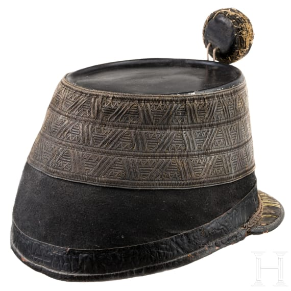 A shako for staff officers of the k.u.k. infantry, circa 1900