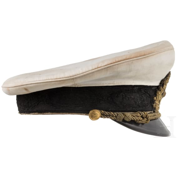 Bulgaria - a visor cap for officers of the tsarist navy, before 1946