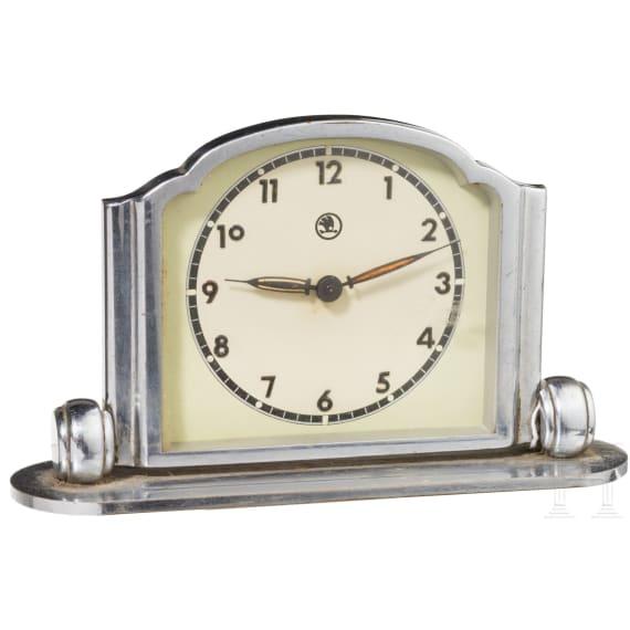 Czechoslovakia - a table clock by Skoda, 1930s