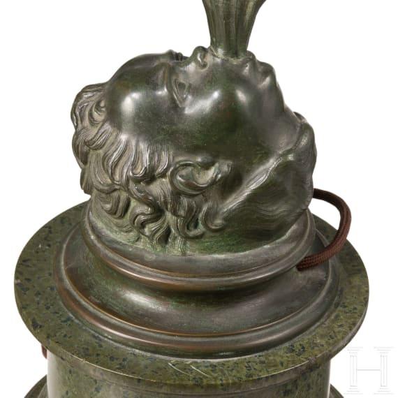 An Italian Grand Tour sculpure of a standing Mercury after Giambologna (1529 - 1608), 19th century
