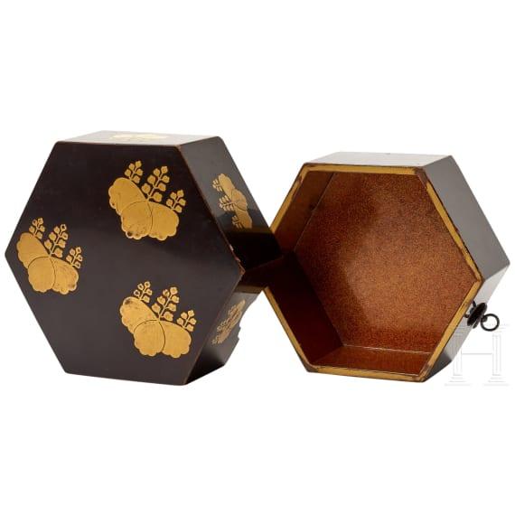 Kleine Lackdose, Japan, späte Edo-/frühe Meiji-Periode