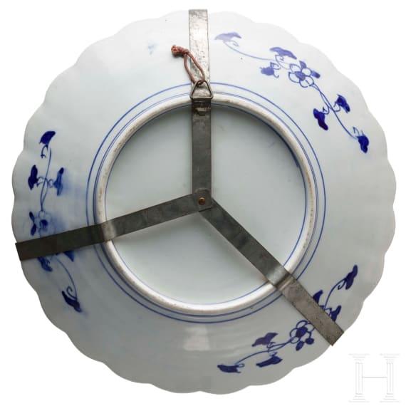 A large Imari porcelain bowl, Japan, 19th century