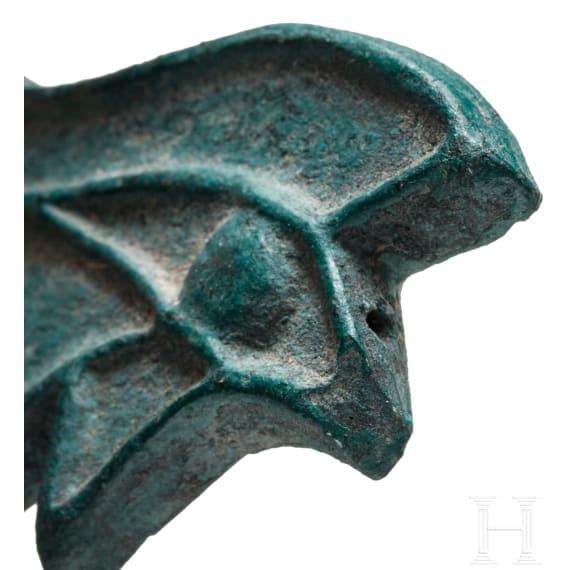 An Egyptian Wedjhat eye amulet, 2nd - 1st millennium B.C.