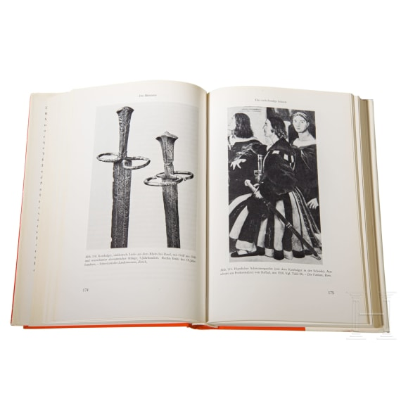 A collection of standard works on Old Prussian armament
