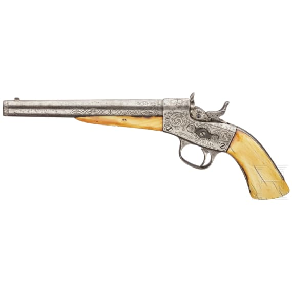 A Rolling Block pistol ca. 1870