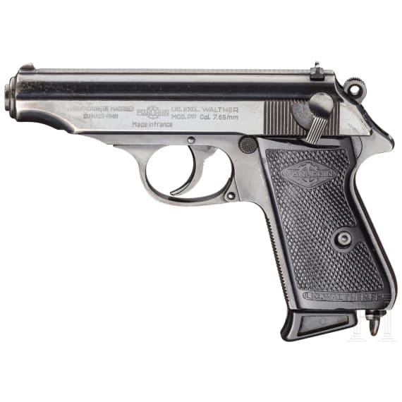 Walther-Manurhin PP, mit Tasche, Ordonnanz
