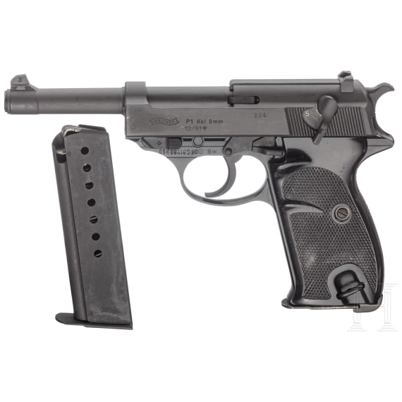 Walther P 1, Bundeswehr