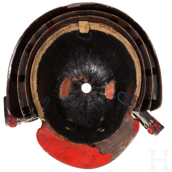 A Japanese 16-plate Suki-Kabuto, 2nd half of the Edo period