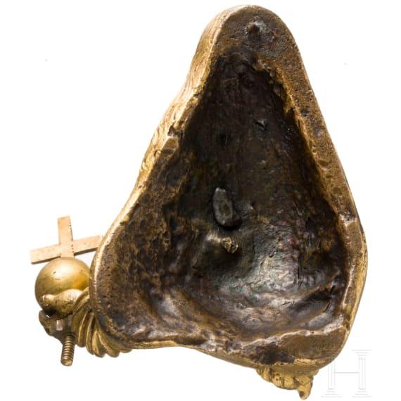 Small gilt bust of Emperor Leopold I, Austria, circa 1680