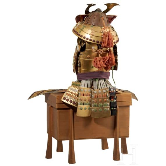 A Japanese miniature armour, Meiji-/Taisho-period