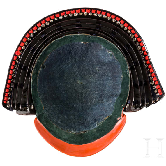A Japanese 16-plates suji-kabuto, 2nd half of the Edo period