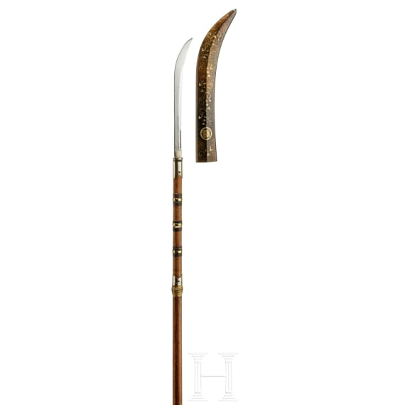 A Japanese naginata, 2nd half of the Edo period