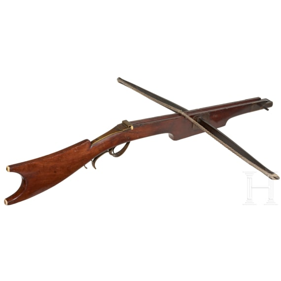 A northern French target crossbow, late 19th century