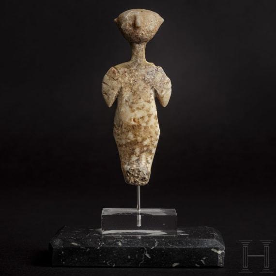 An Anatolian Kiliya-Idol, 3rd millennium B.C.