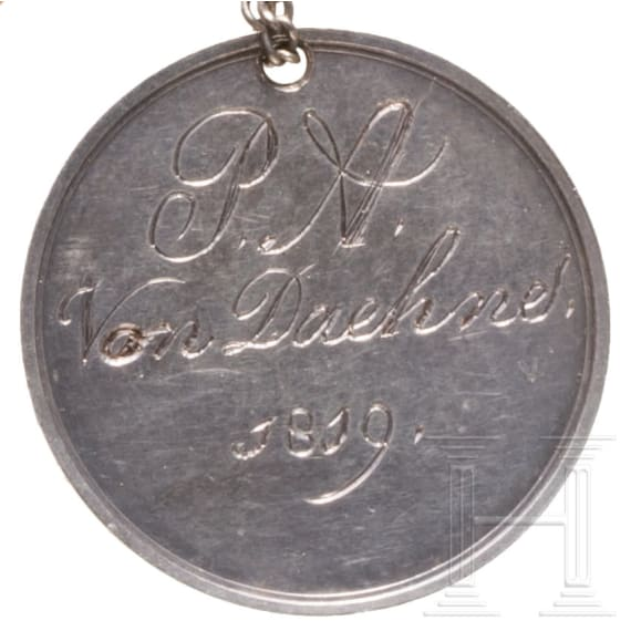 A group of Dutch awards of the 19th century for a military member of the von Daehne family