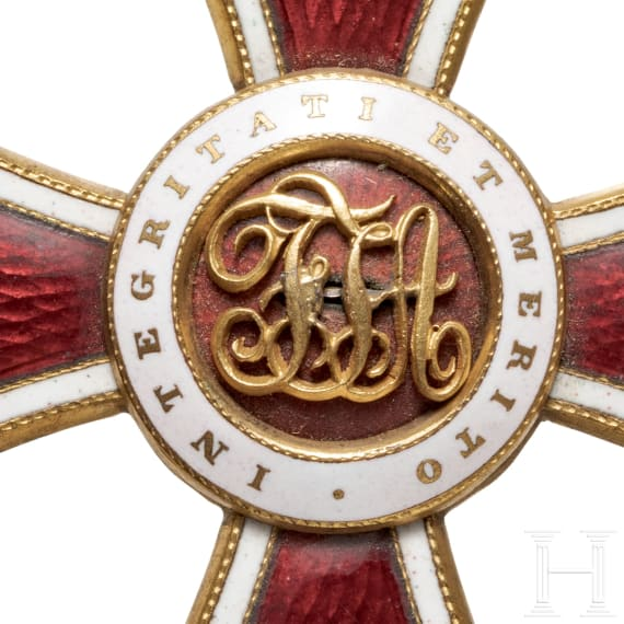 Order of Leopold – a Commander's Cross with war decoration