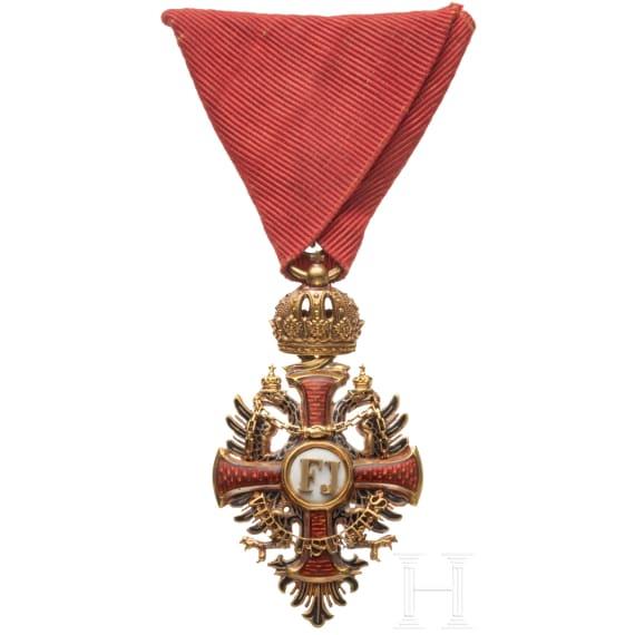 Order of Franz Joseph – a Knight's Cross
