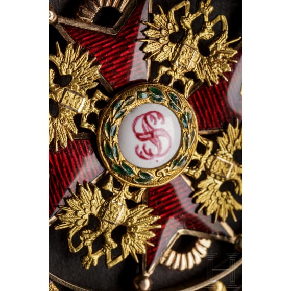 Order of St. Stanislaus – a Russian badge for order officials, circa 1870