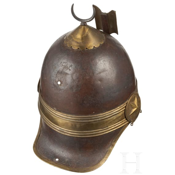 Helm der Khediven-Leibgarde, ab 1867