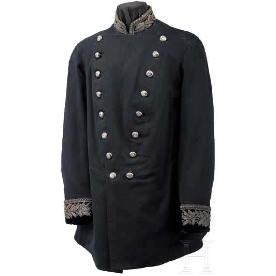 A tunic of a royal Danish official, late 19th century