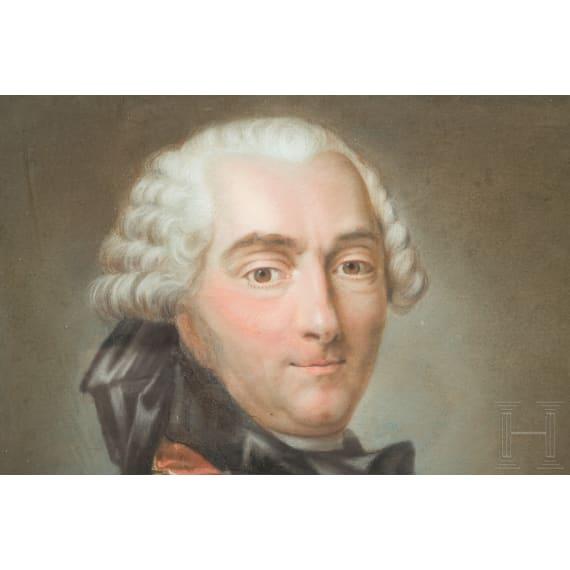 Charles Louis Auguste Fouquet, Duc de Belle-Isle (1684-1761) – Portrait, 18. Jhdt.