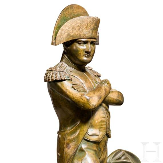 Napoleon Bonaparte – Bronzestatuette in Uniform