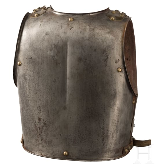 A cuirass M 1825 for troopers of the cuirassiers