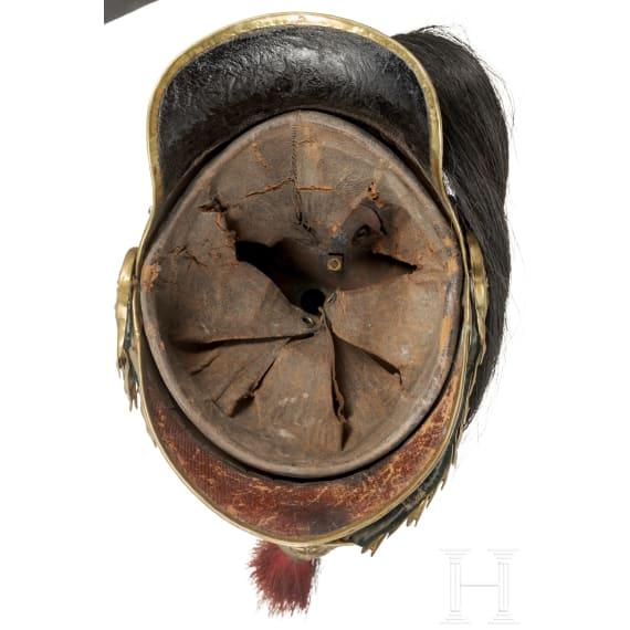 Helm M 1874 für Offiziere der Kürassiere