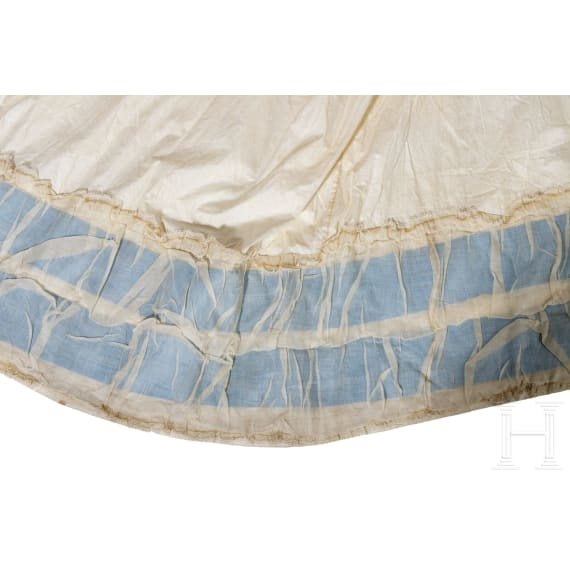 Empress Elisabeth of Austria – a delicate underskirt for a bustle dress, circa 1870/80