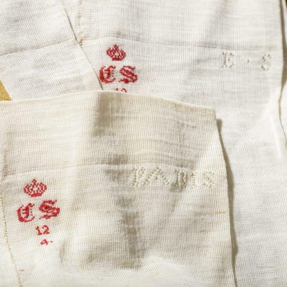Kaiserin Elisabeth von Österreich – drei Teile Leibwäsche aus der Sommergarderobe, um 1870/80