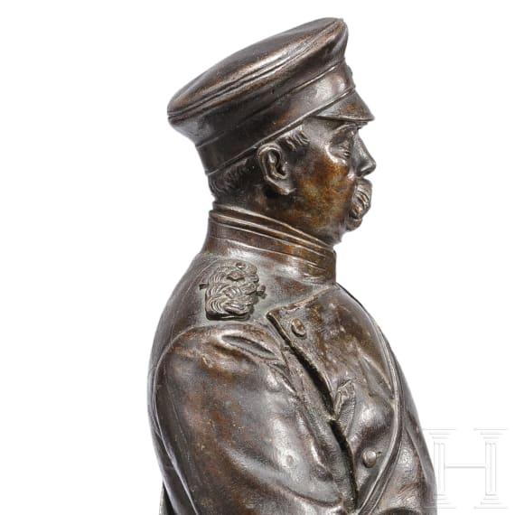 Carl Silbernagel – Bismarck in Uniform, datiert 1875