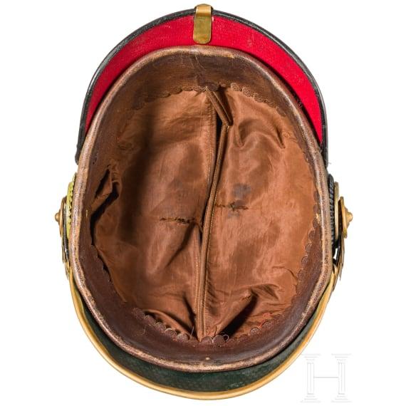 A helmet for officers of the Anhalt Infantry Regiment No. 93, circa 1900