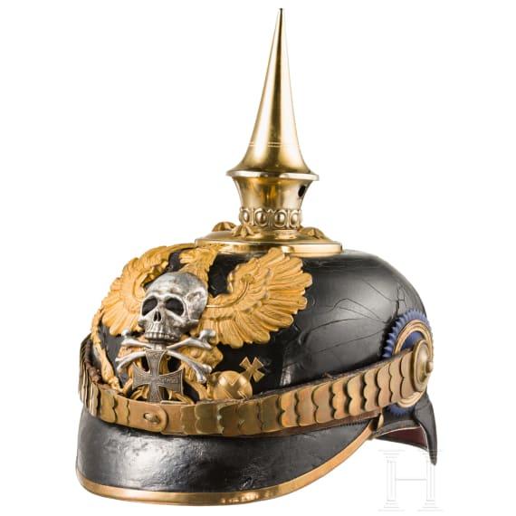 A helmet for officers of the Brunswick Infantry Regiment No. 92