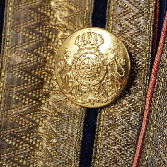 Gala-Livree für einen Pagen am königlichen Hof von Hannover, Mitte 19. Jhdt.